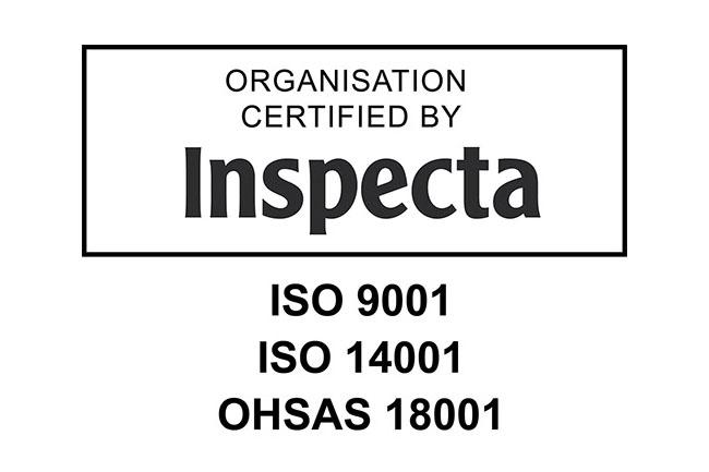 Escarmatille on myönnetty OHSAS 18001:2007 -sertifikaatti