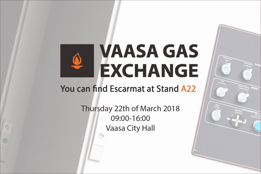 Mark the Date: Escarmat at Vaasa Gas Exchange on 22 March!