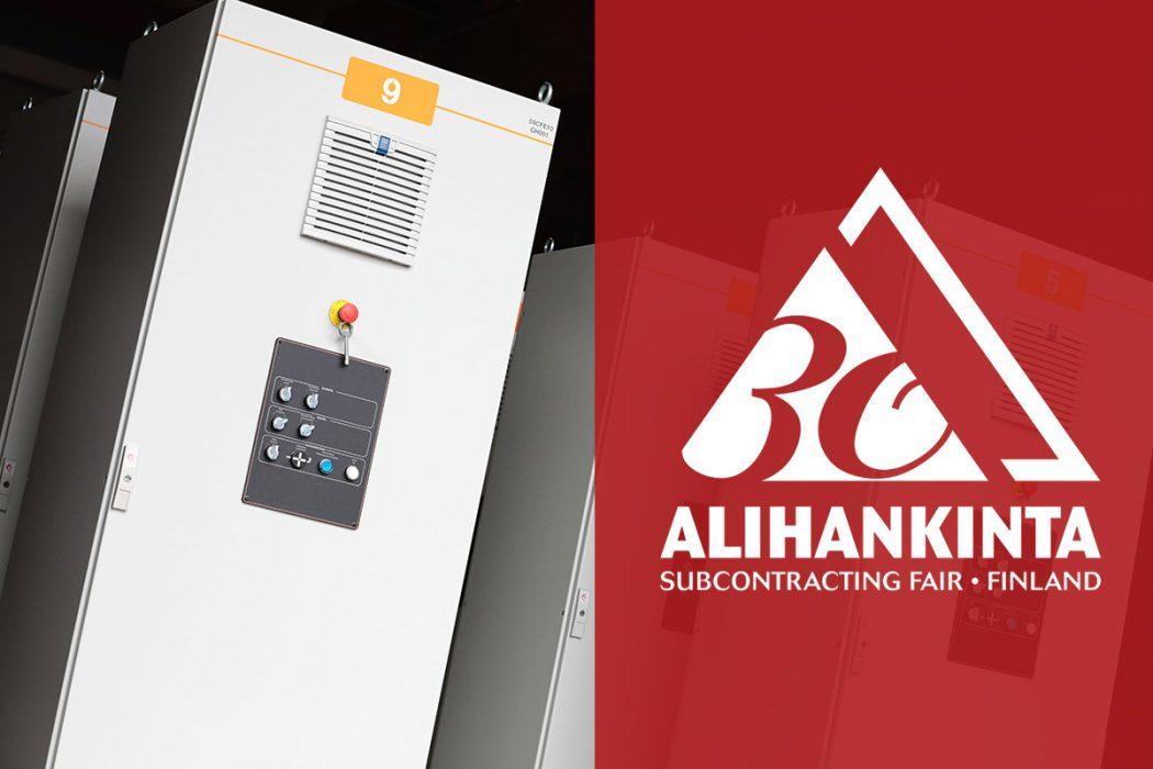 Palvelemme Alihankinta-messuilla keskusvalmistukseen liittyvissä tarpeissanne osastolla D308!