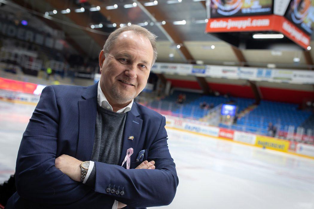 Vaasan Sportin toimitusjohtaja Tomas Kurtén arvostaa pitkäjänteistä yhteistyötä Escarmatin kanssa