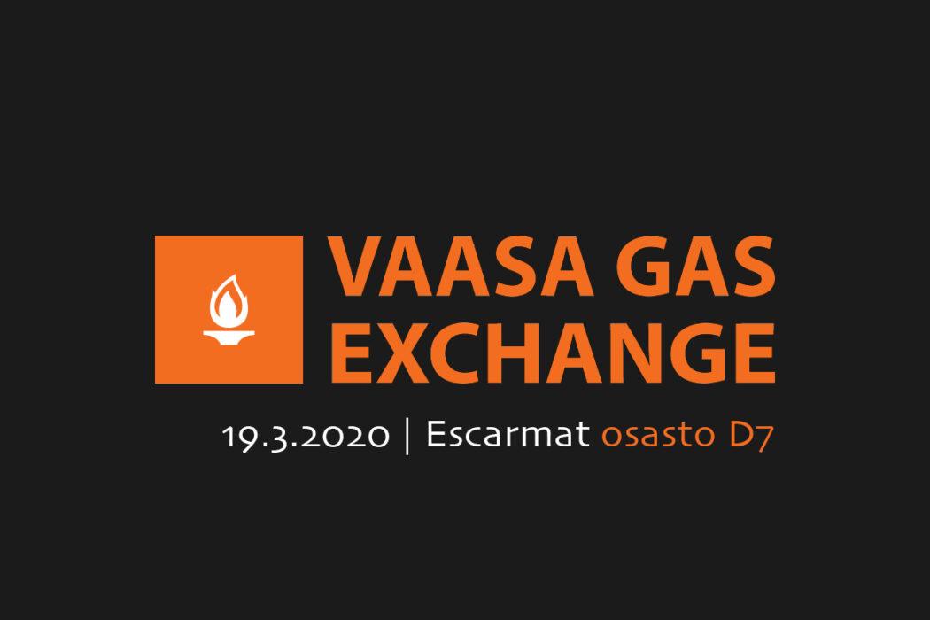 Escarmat mukana Vaasa Gas Exchange -tapahtumassa!