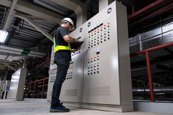Control cabinet installation services