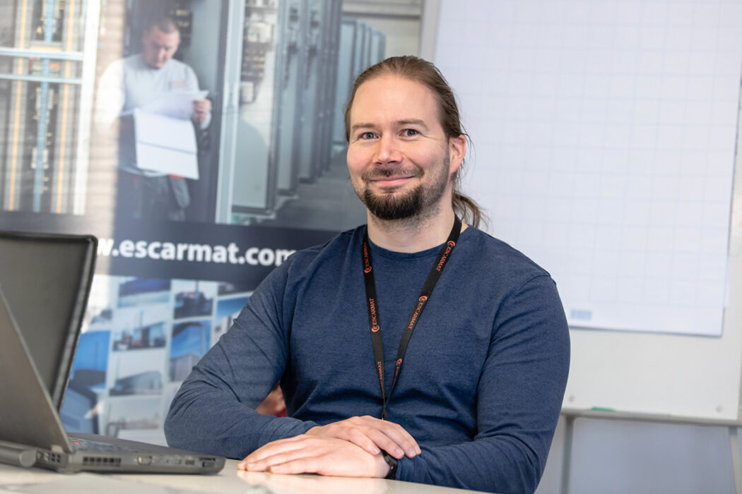 Heikki Haapanen appointed Escarmat's Export and Sales Manager