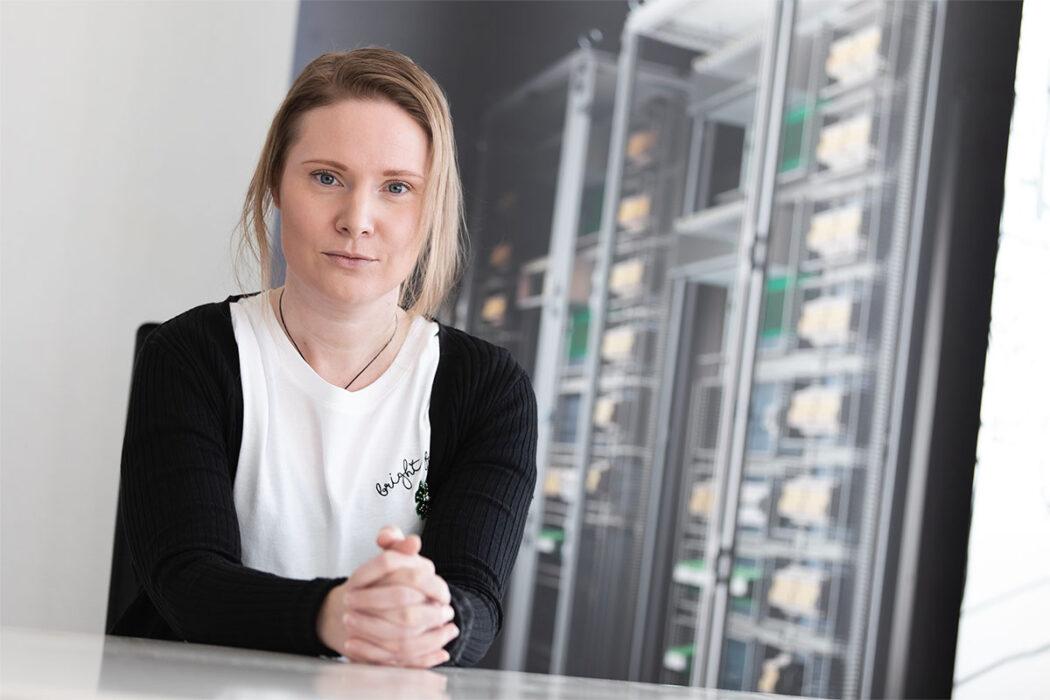 Heidi Hangasmäki has been appointed Escarmat's Sales Assistant